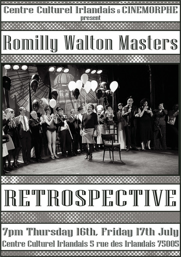 Romilly Walton Masters exhibition flyer